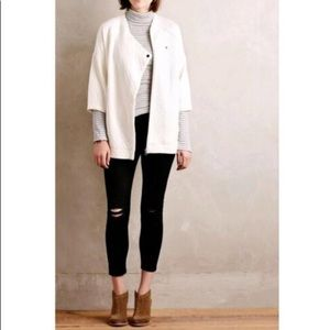 Anthropologie Bella Luxx Quilted Oversized Jacket